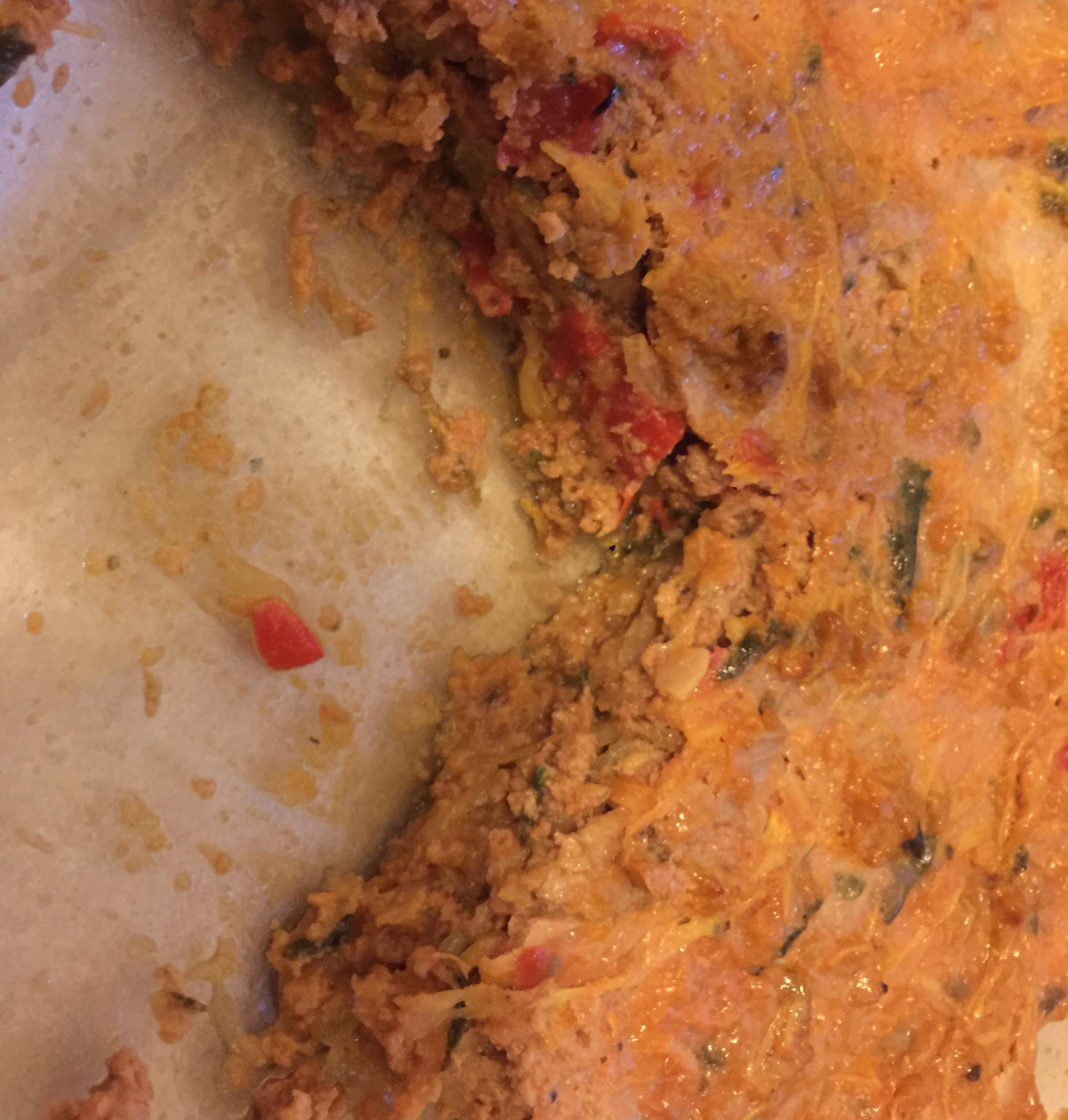 Paleo Spaghetti Pie (Grain, Gluten, and Dairy Free)