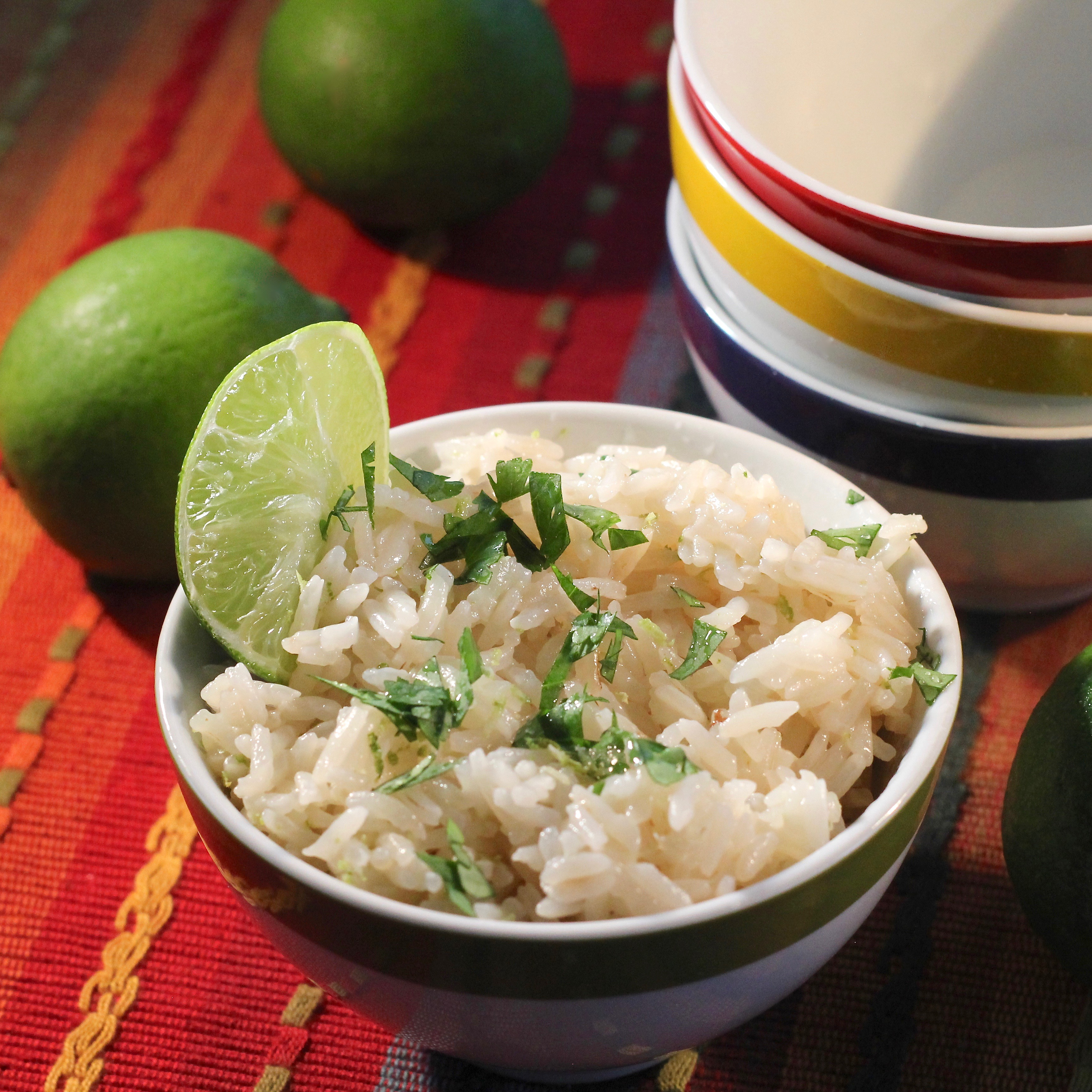 Instant Pot® Lime-Cilantro Rice