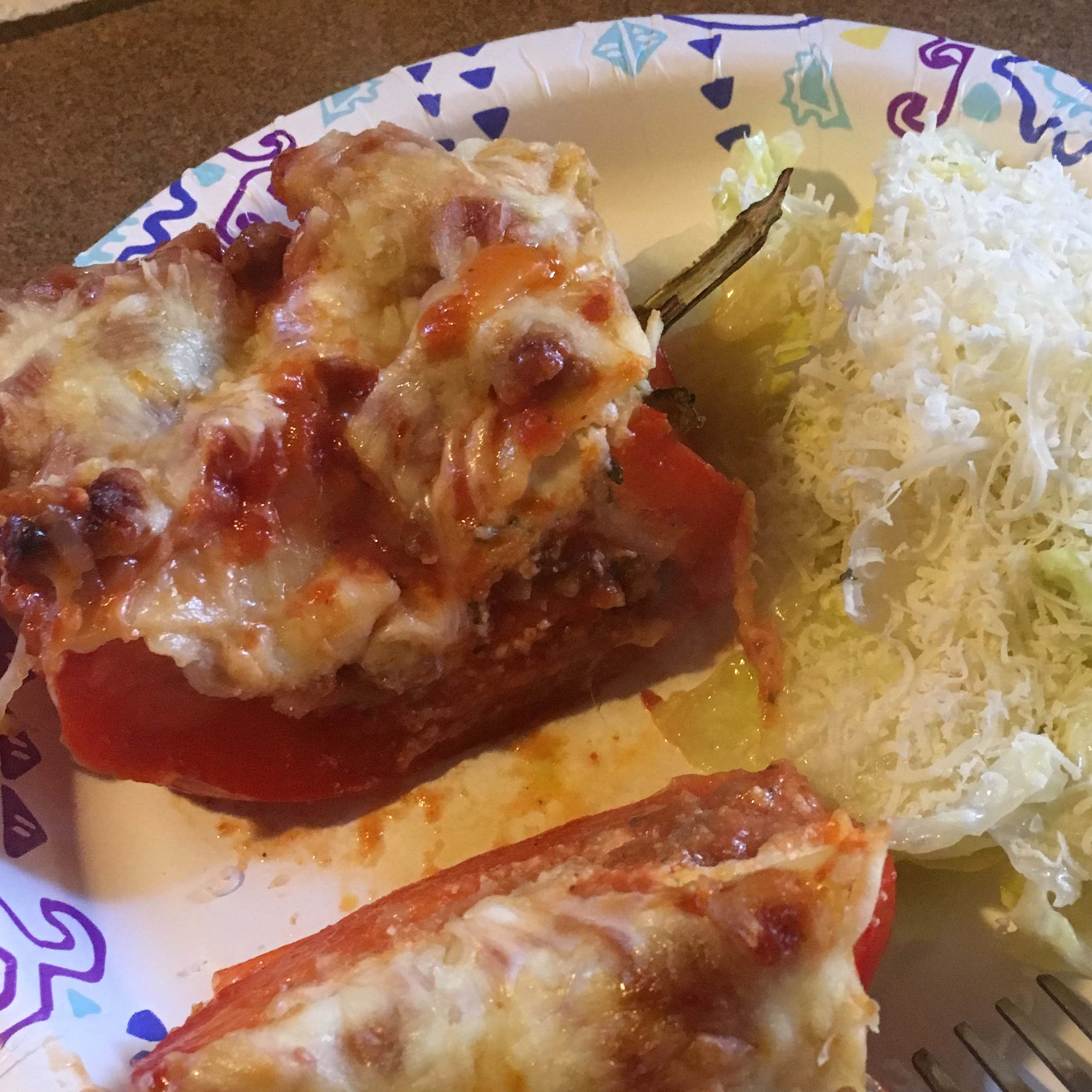 Lasagna-Stuffed Peppers Teresa