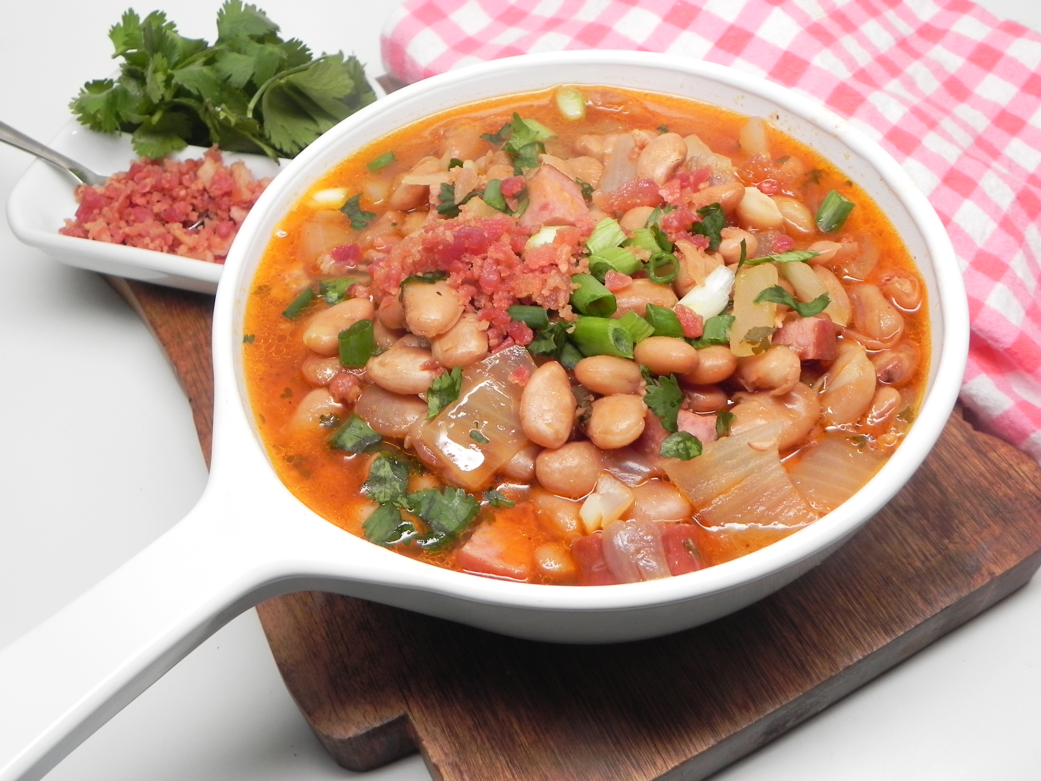 Instant Pot® Alcatra Feijao (Portuguese Bean Stew)