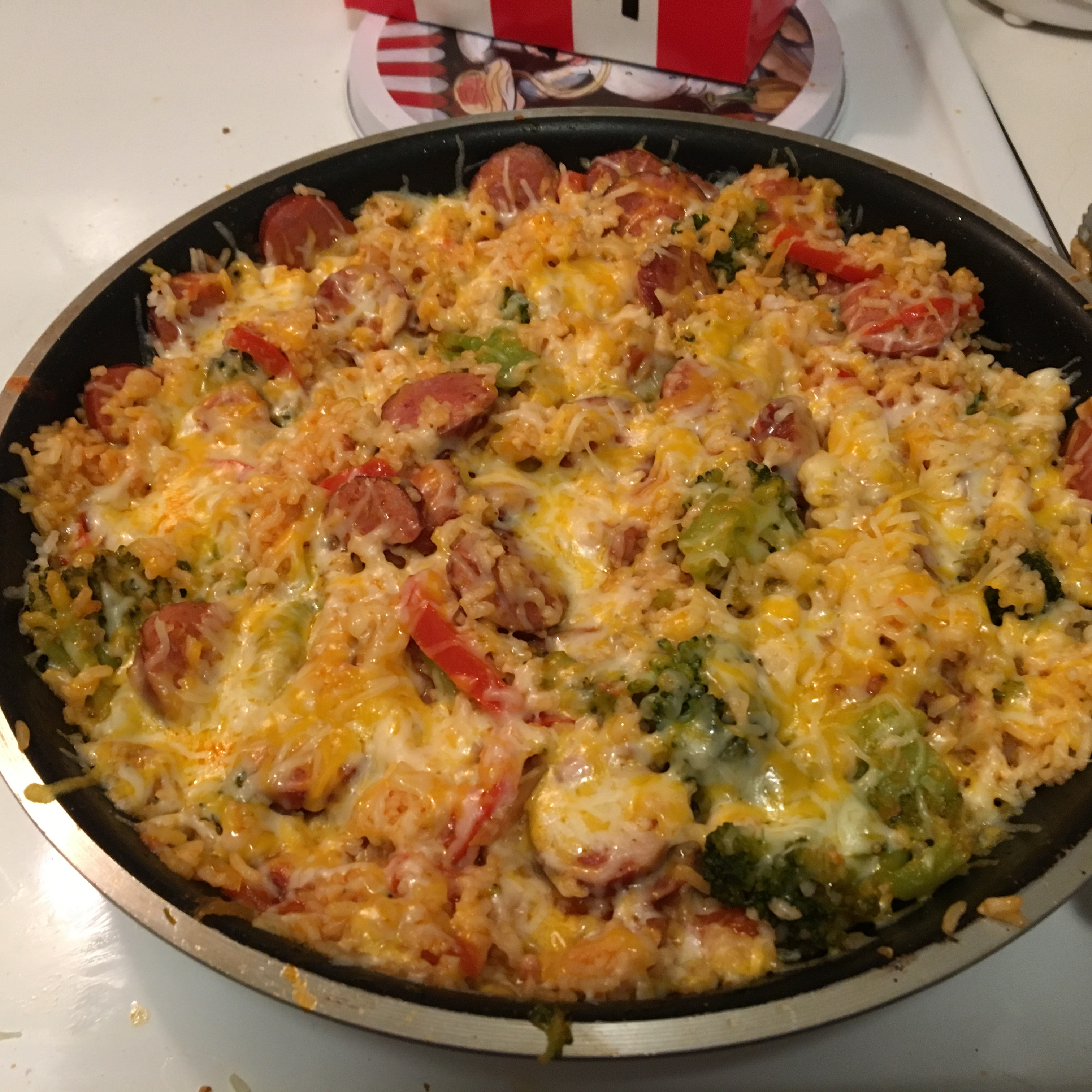 Easy Smoked Sausage Skillet Stormy Cazeault
