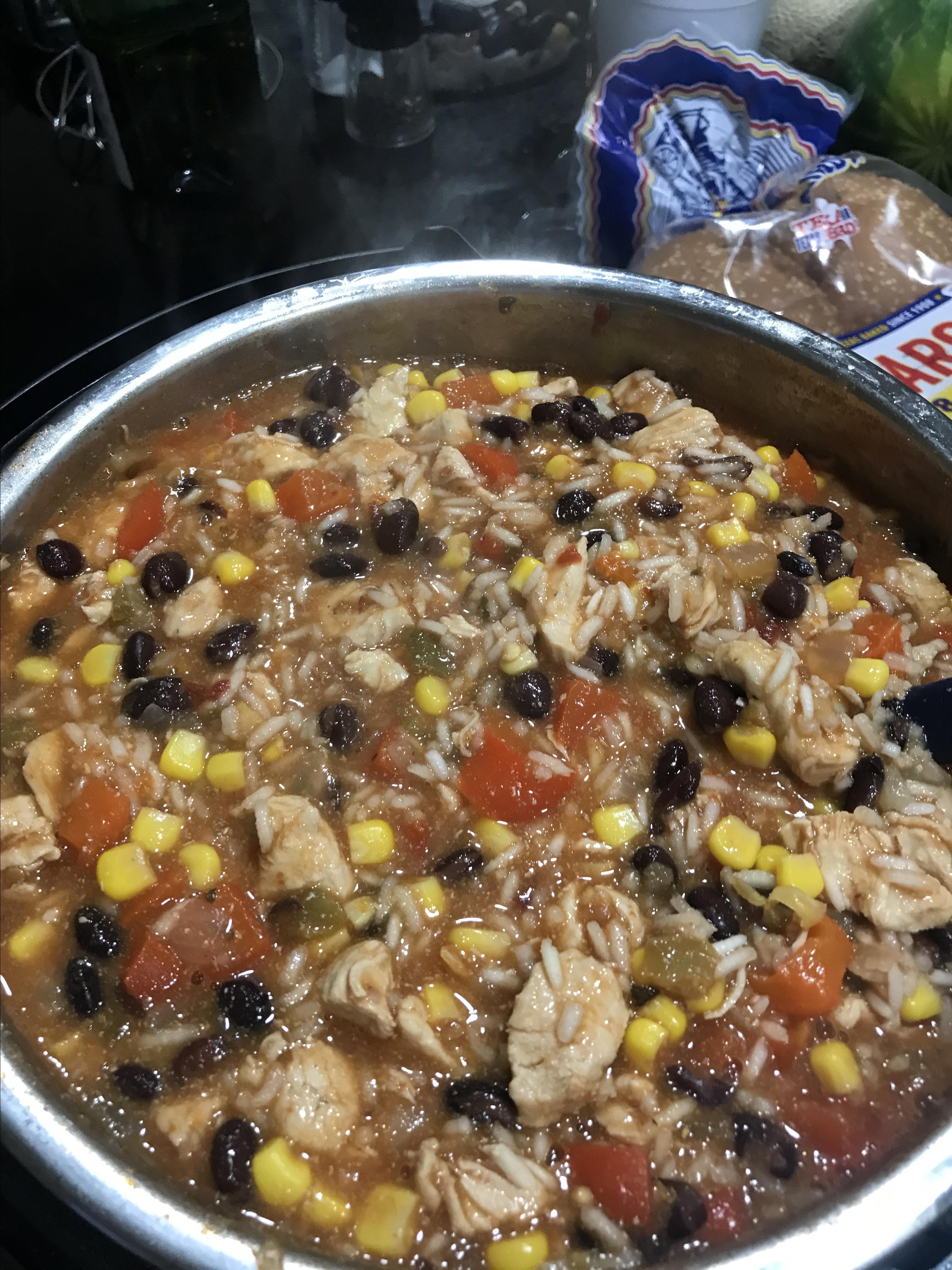 Instant Pot® Chicken Burrito Bowl Shelly Cordts