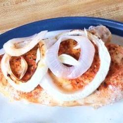 Baked Chicken and Onions JenniferMayer