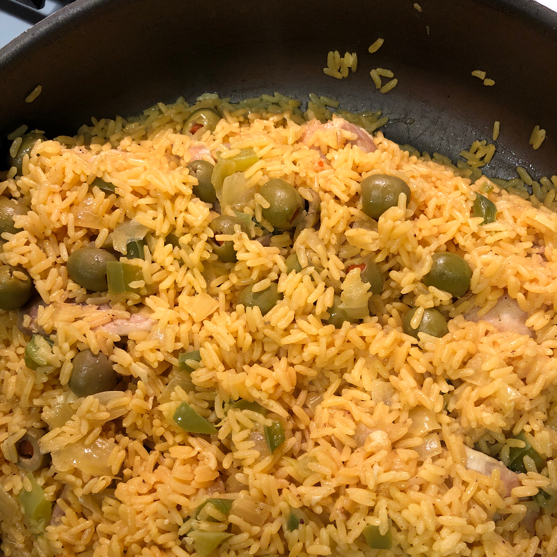 Arroz con Pollo (Chicken and Rice) Goya