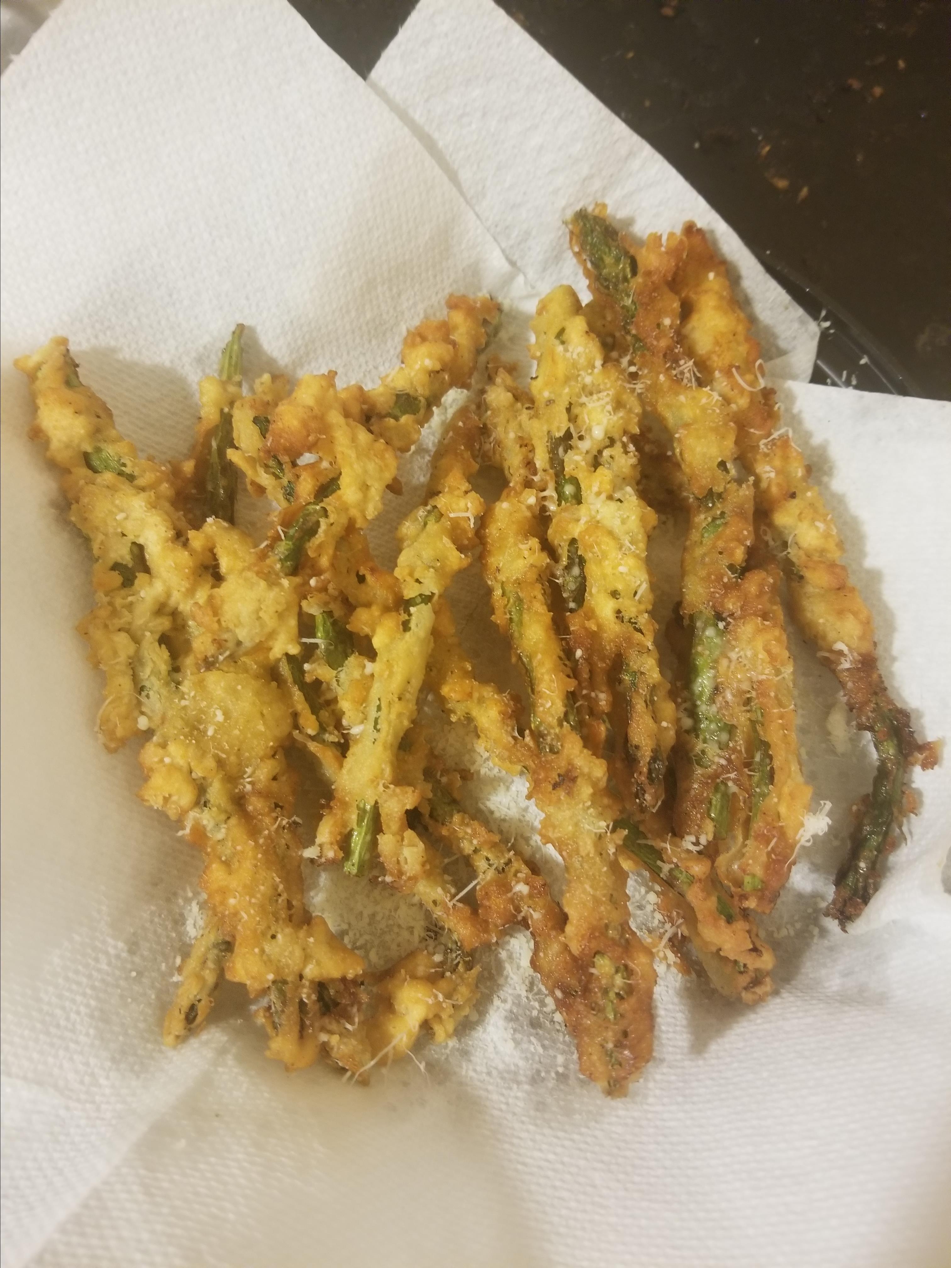 Fried Asparagus Sticks Nora Victorino