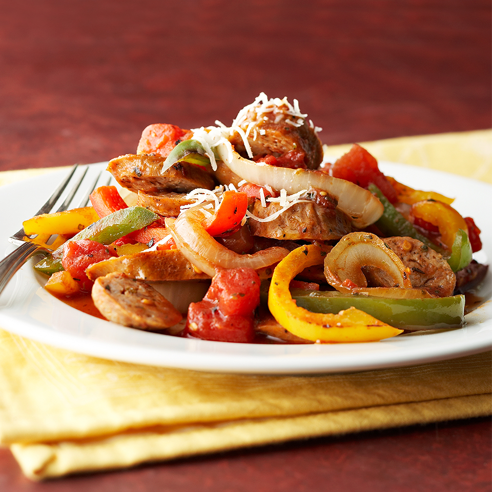 Sausage & Pepper Medley Diabetic Living Magazine