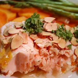 Salmon With Scalloped Sweet Potatoes cookin'mama