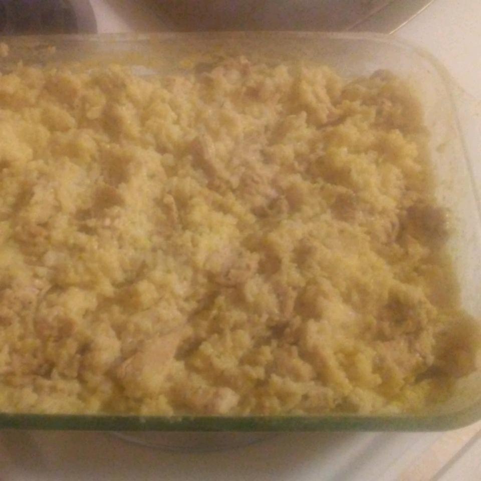 Easy Chicken Rice Casserole