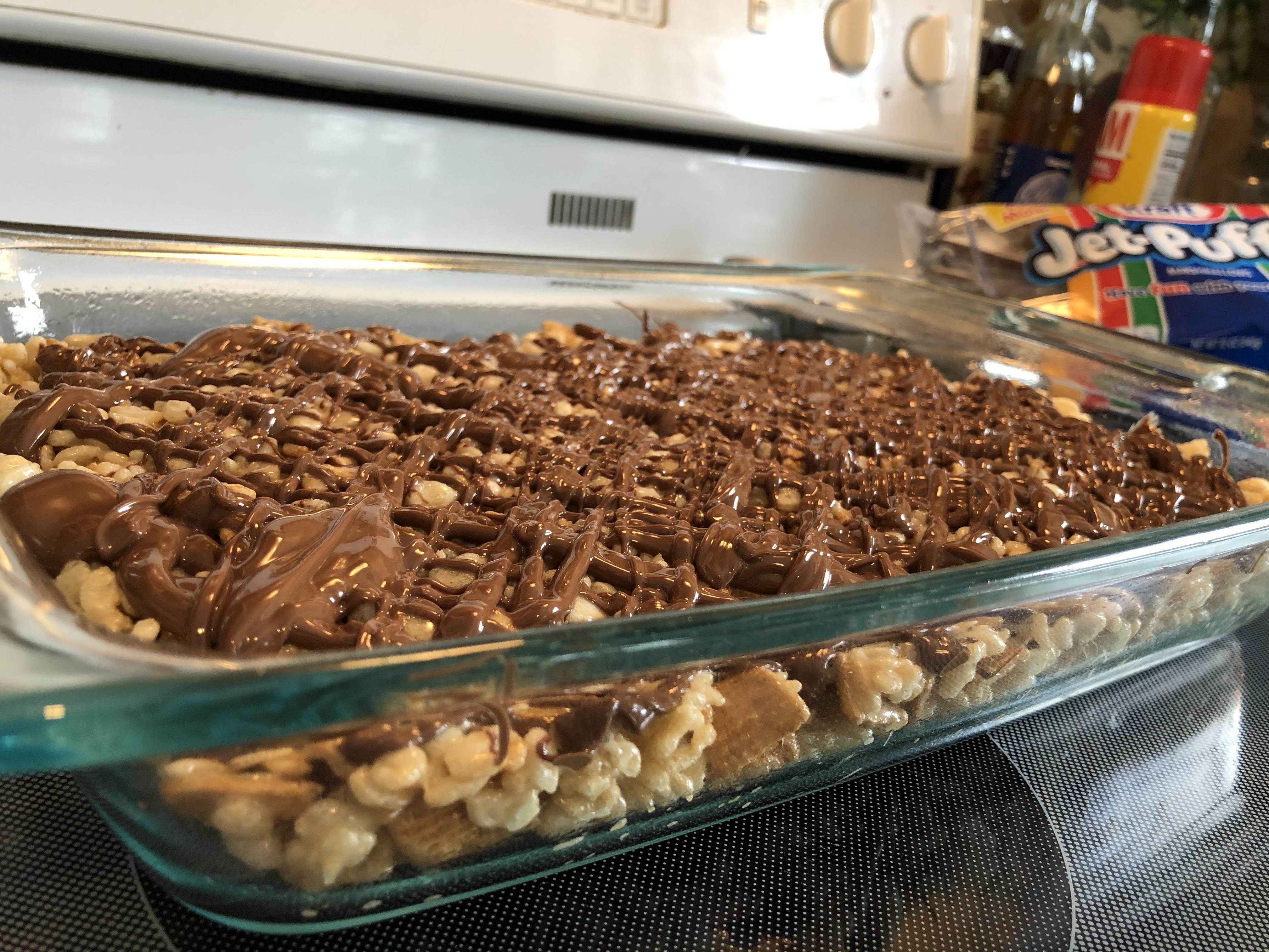 S'mores Rice Crispy Treats slmowry