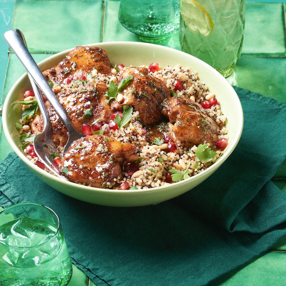 Garlic Chicken with Honey and Rosemary Allrecipes Magazine