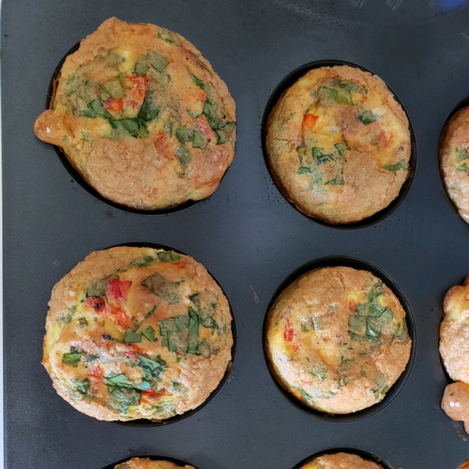 Healthy Ham and Egg Muffins
