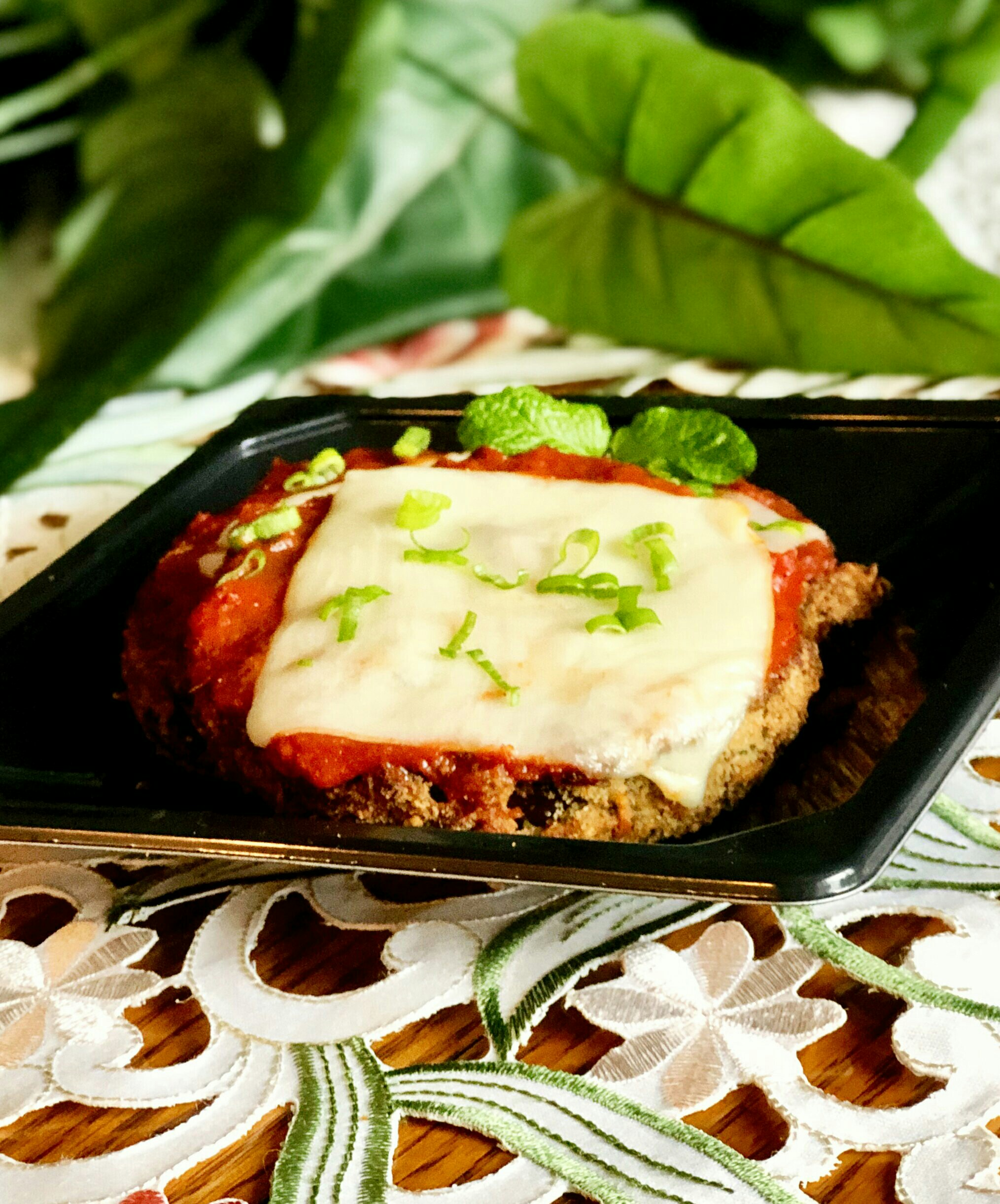 Air Fryer Eggplant Parmesan Yoly