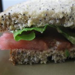 Quick Tomato Sandwich mommyluvs2cook