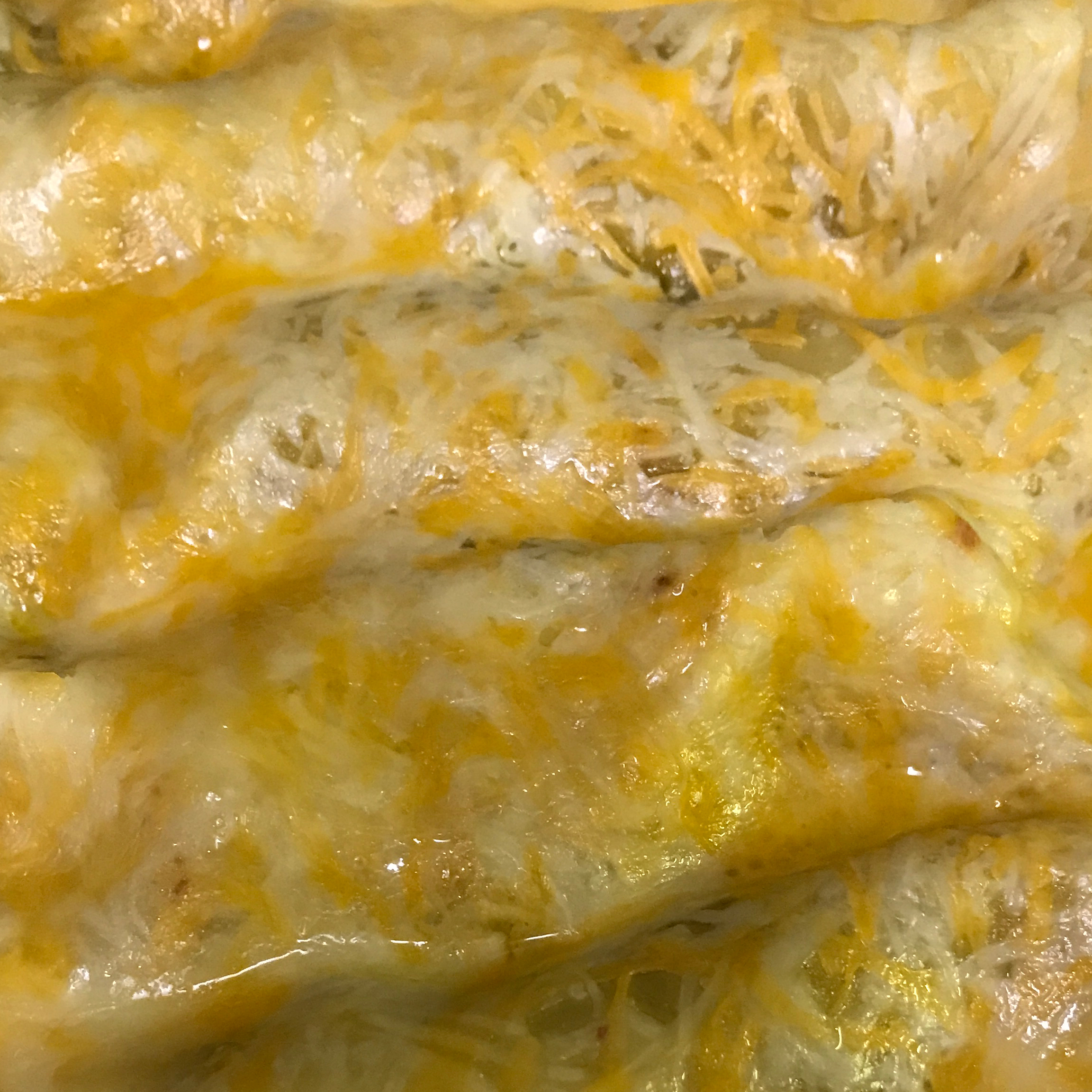 Green Chicken Enchilada Christy Scronce