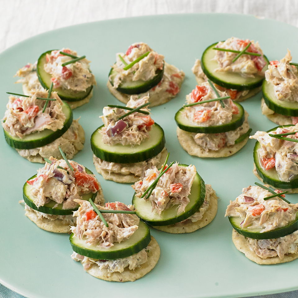 Smoked Tuna Spread Canapés Diabetic Living Magazine