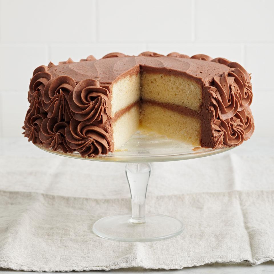 White Cake Diabetic Living Magazine