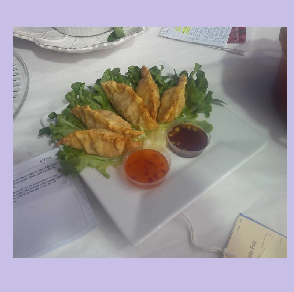 Fried Pork Gyoza with Dipping Sauce