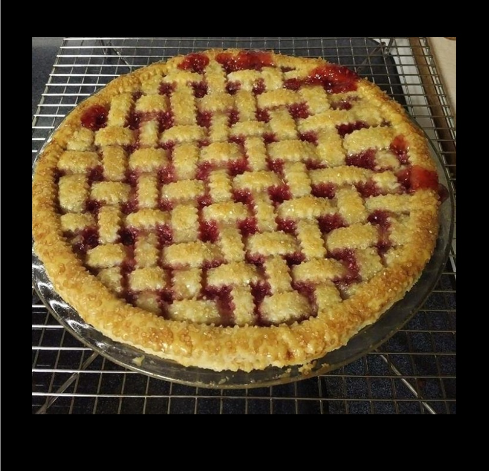 Cherry-Raspberry Pie Mama Fresh