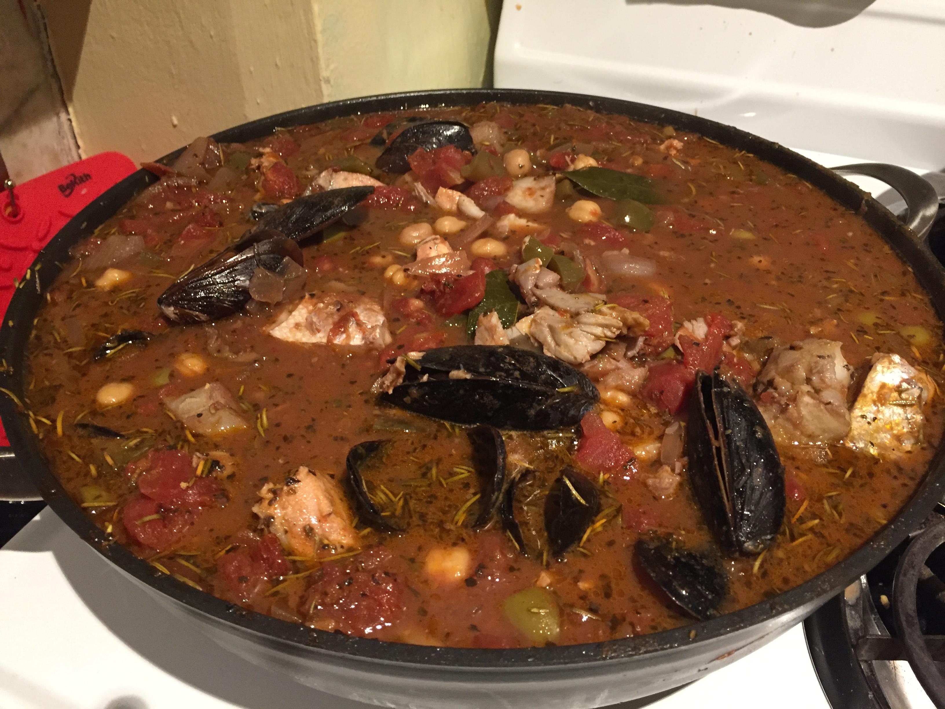 Tomato-Rich Fish Stew