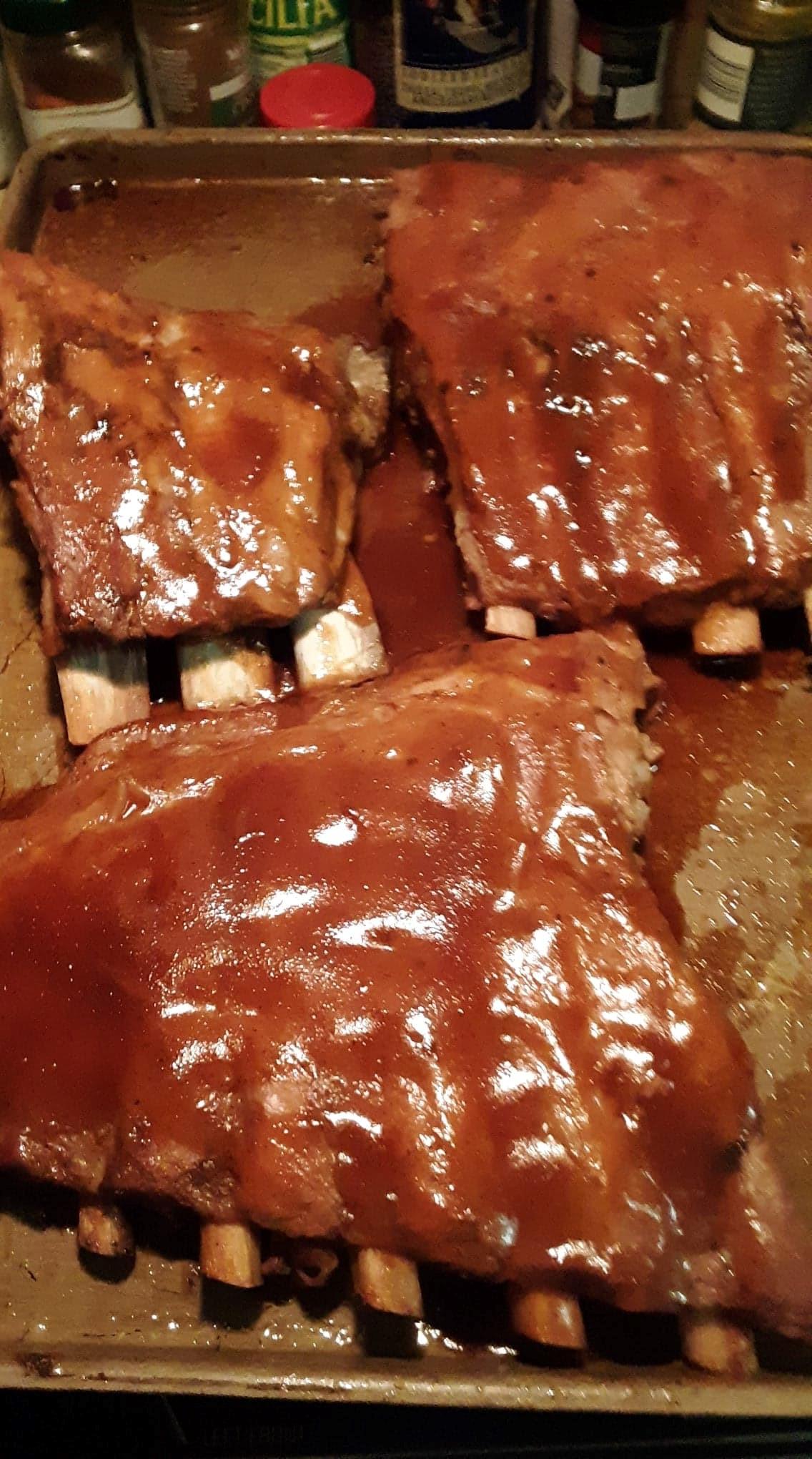 Tender Pork Spare Ribs