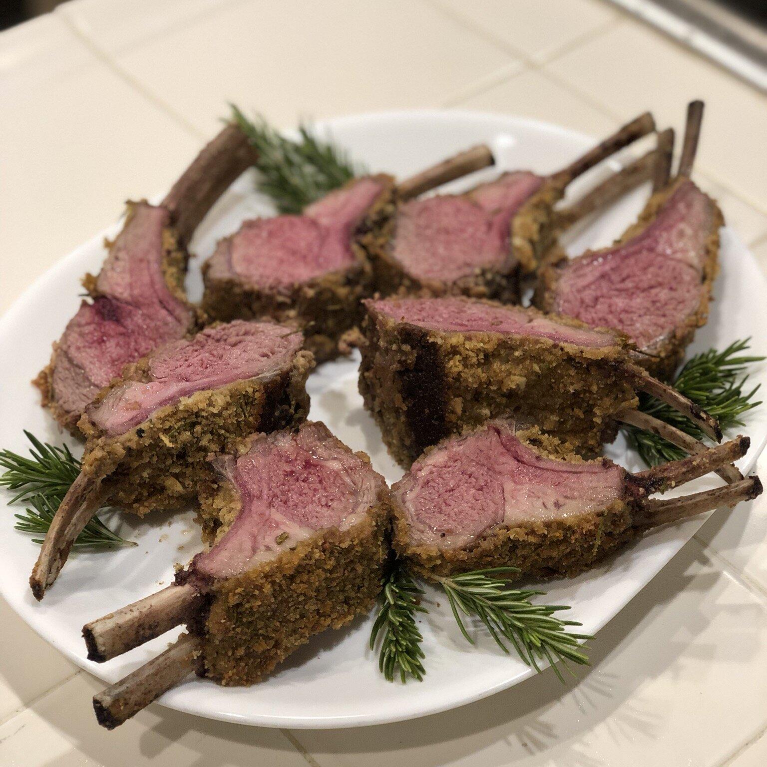 lamb chops rack recipe oven Roasted Rack of Lamb