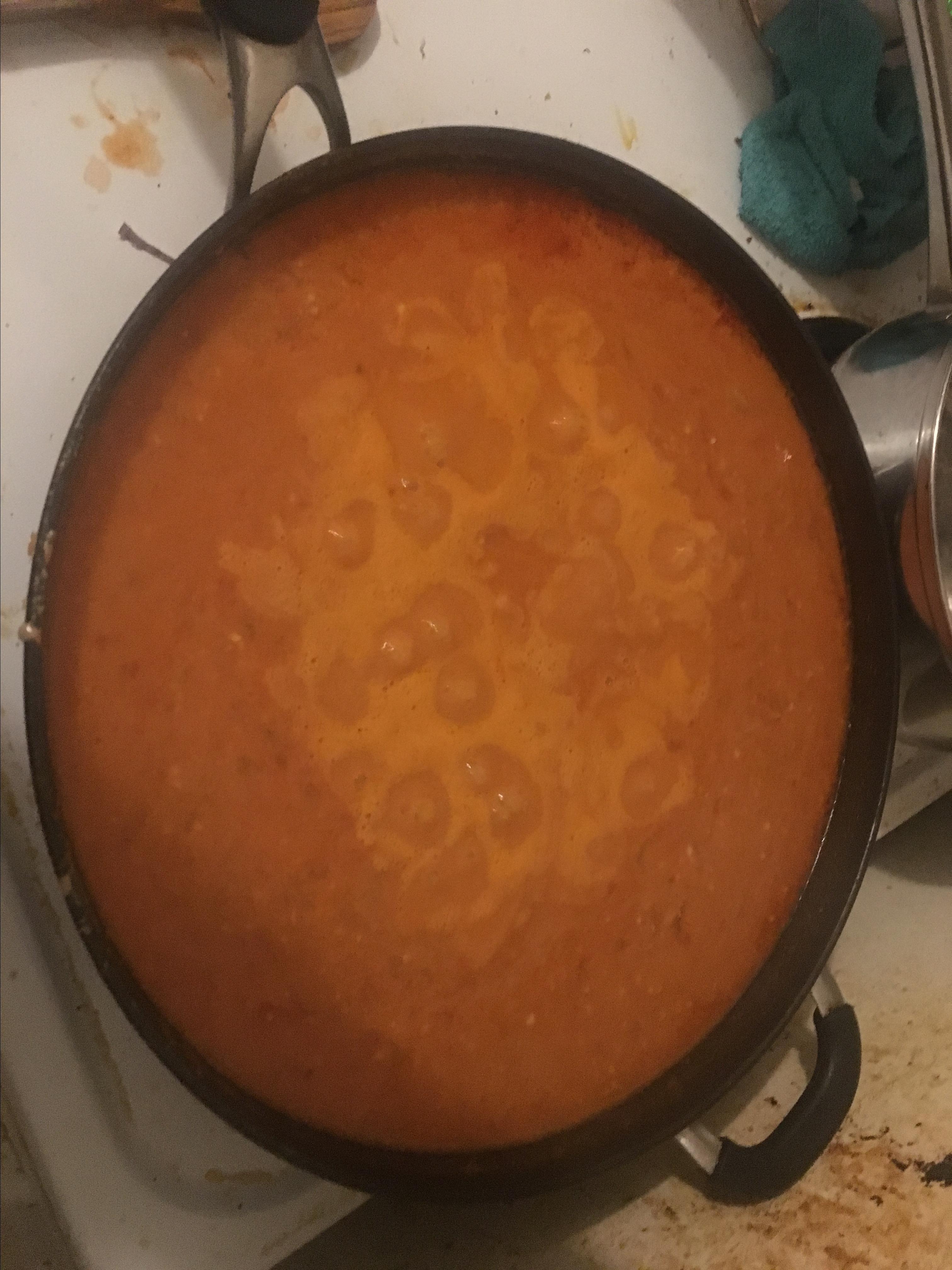 African Peanut Soup john payne