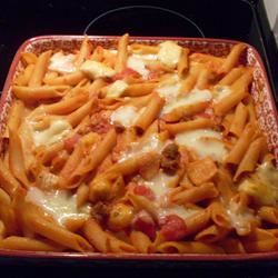 Baked Penne with Italian Sausage xsomber_resplendencex