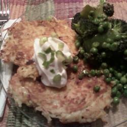 Easy Potato Pancakes kelsey