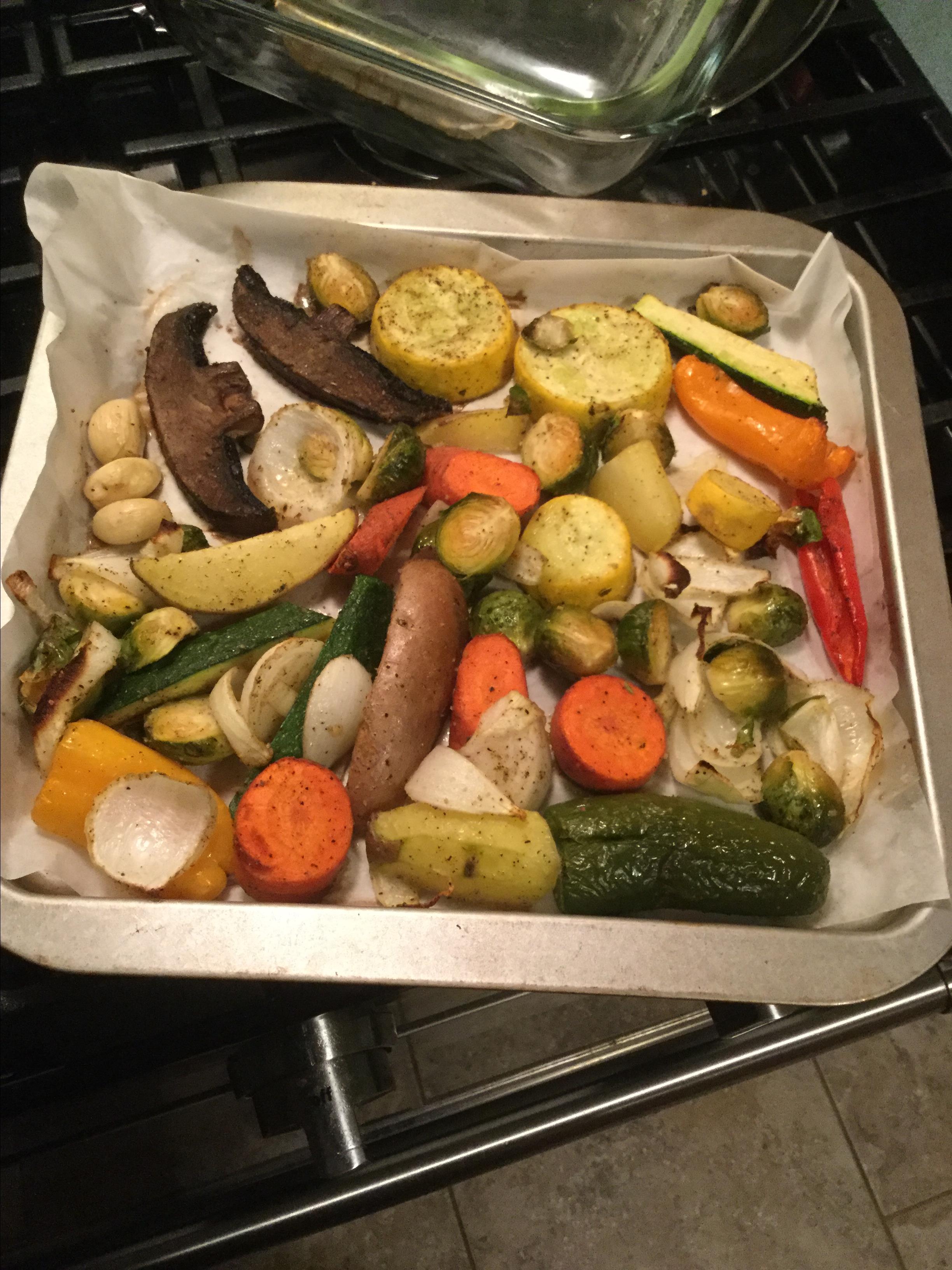 Roasted Vegetables Daa Akbar