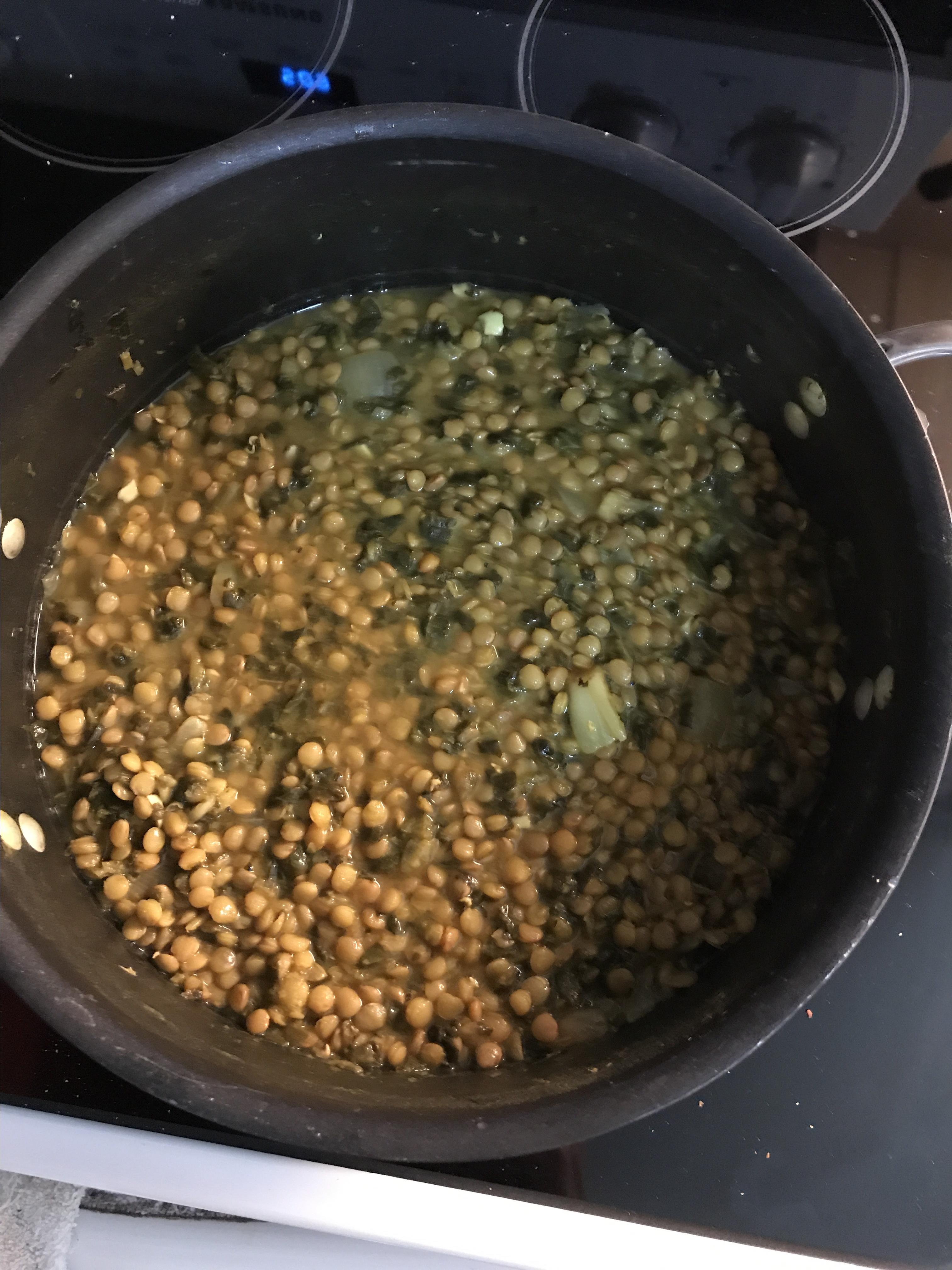 Adas bil Hamod (Lebanese Lentil Lemon Soup) missannie42