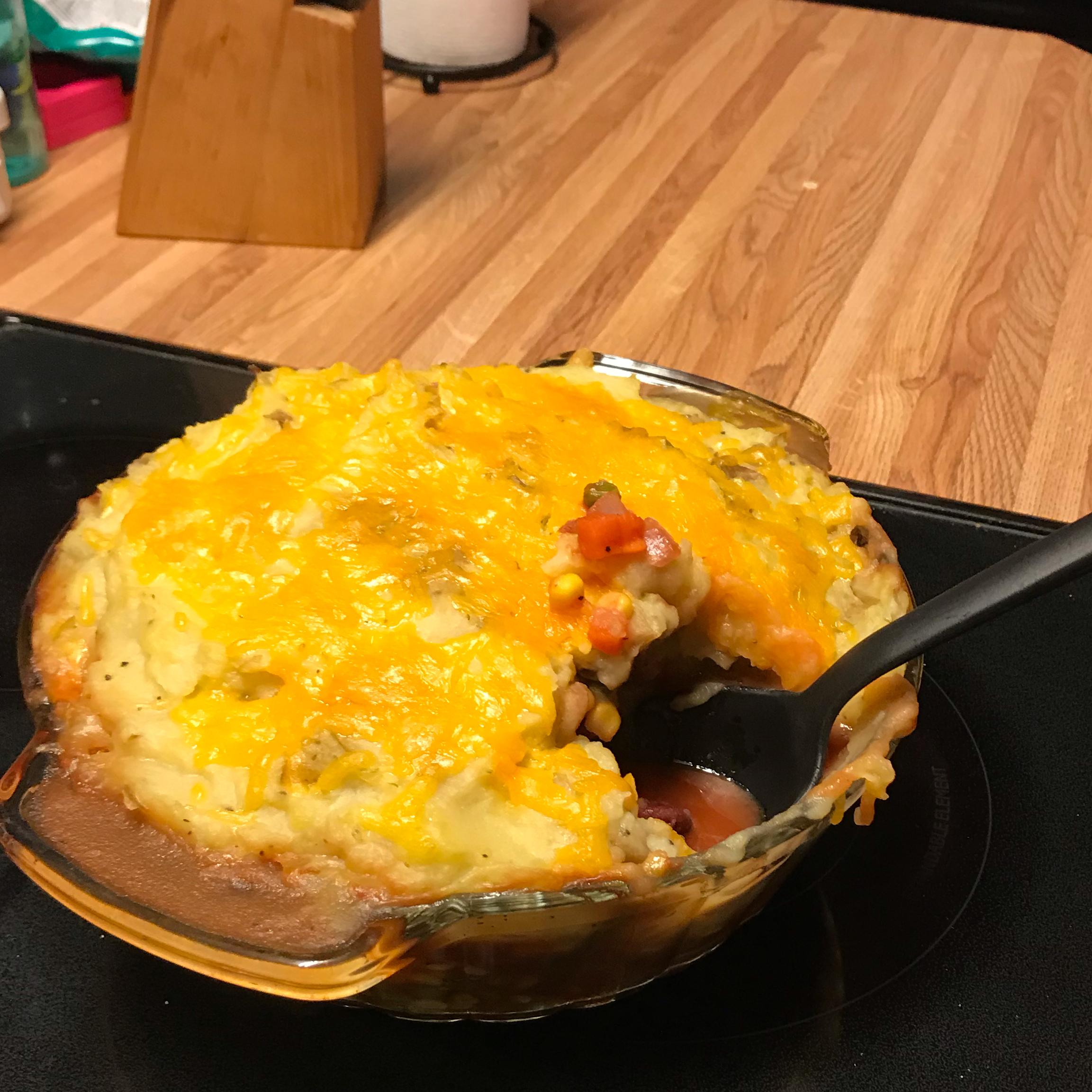 Vegetable Shepherd's Pie kris