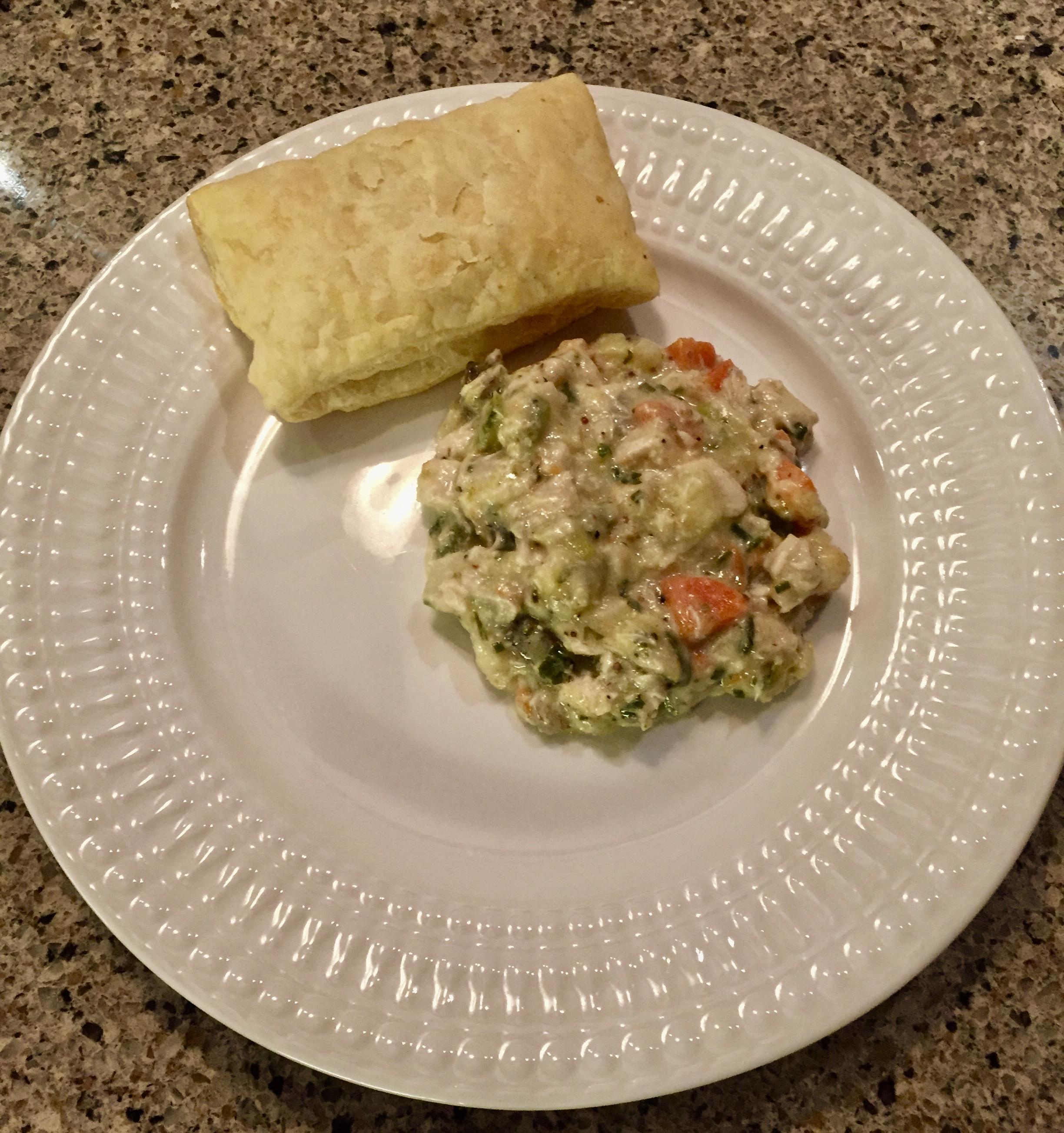 White Fish Pot Pie