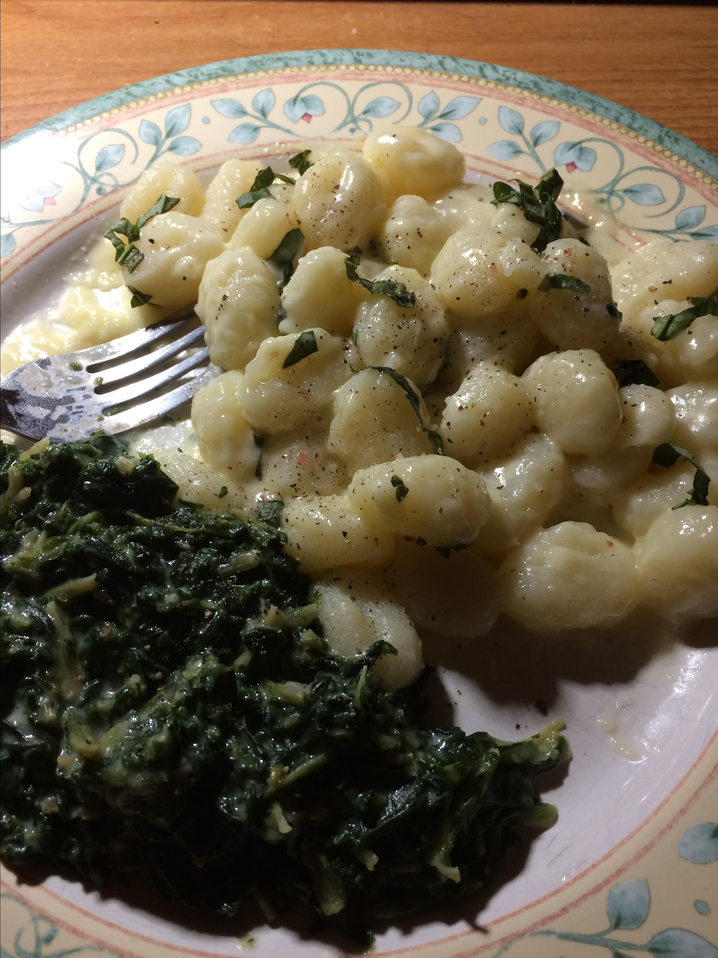 Gnocchi in Fontina Sauce