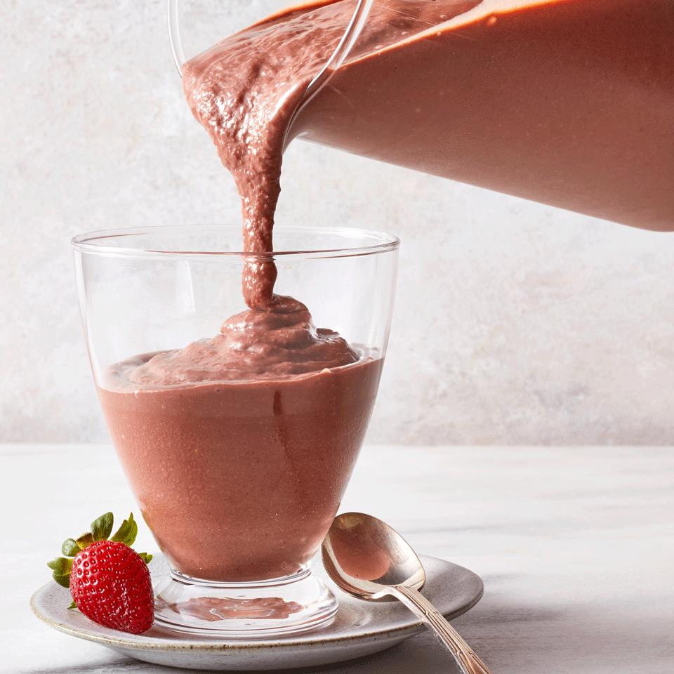 Strawberry-Chocolate Smoothie