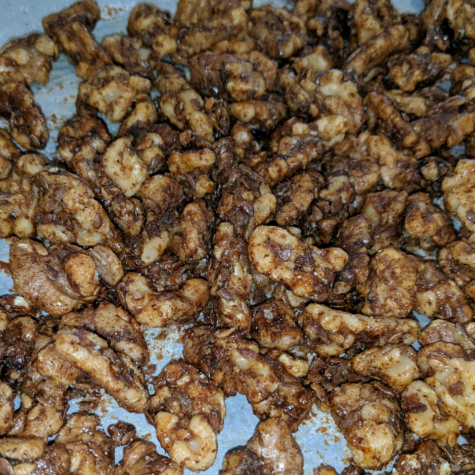 No Guilt Spiced Mixed Nuts Laurie Sawyer