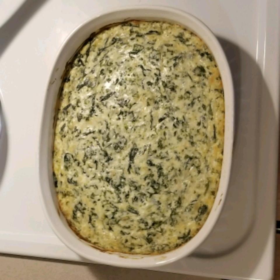 Hot Asiago and Spinach Dip Brandy Ballard Brigman