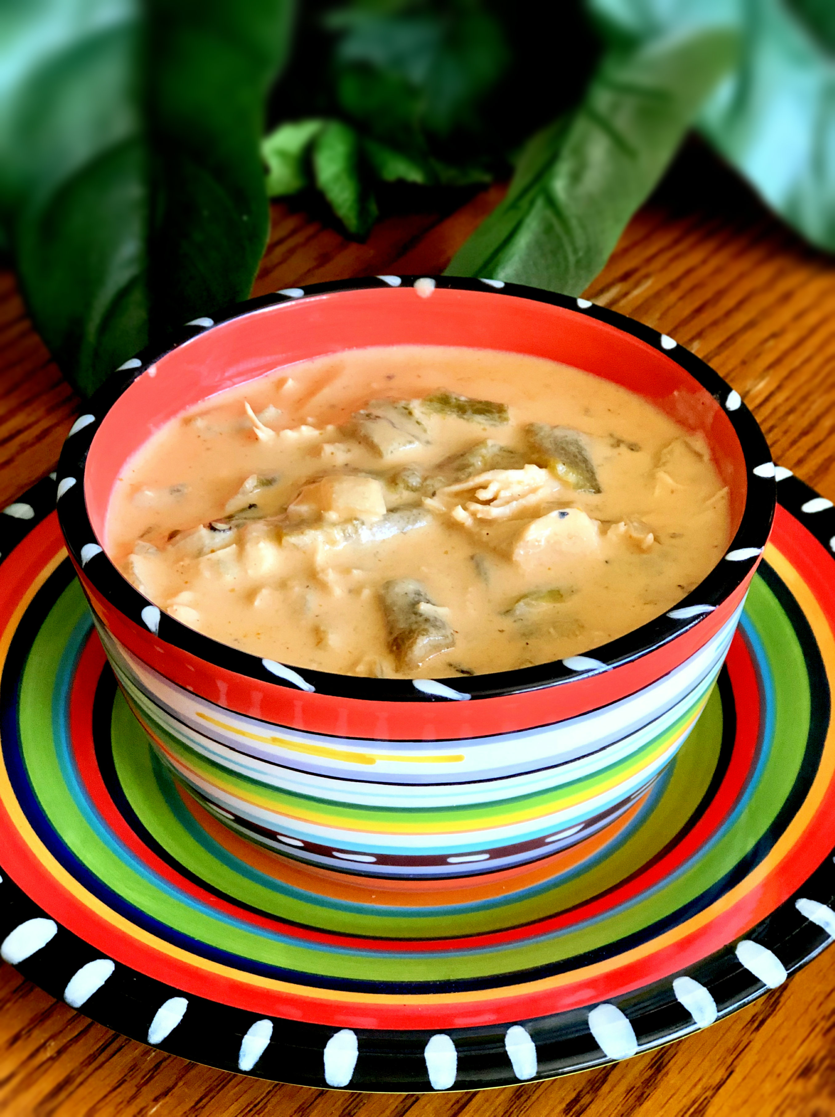 Poblano Chicken Cheese Soup Yoly