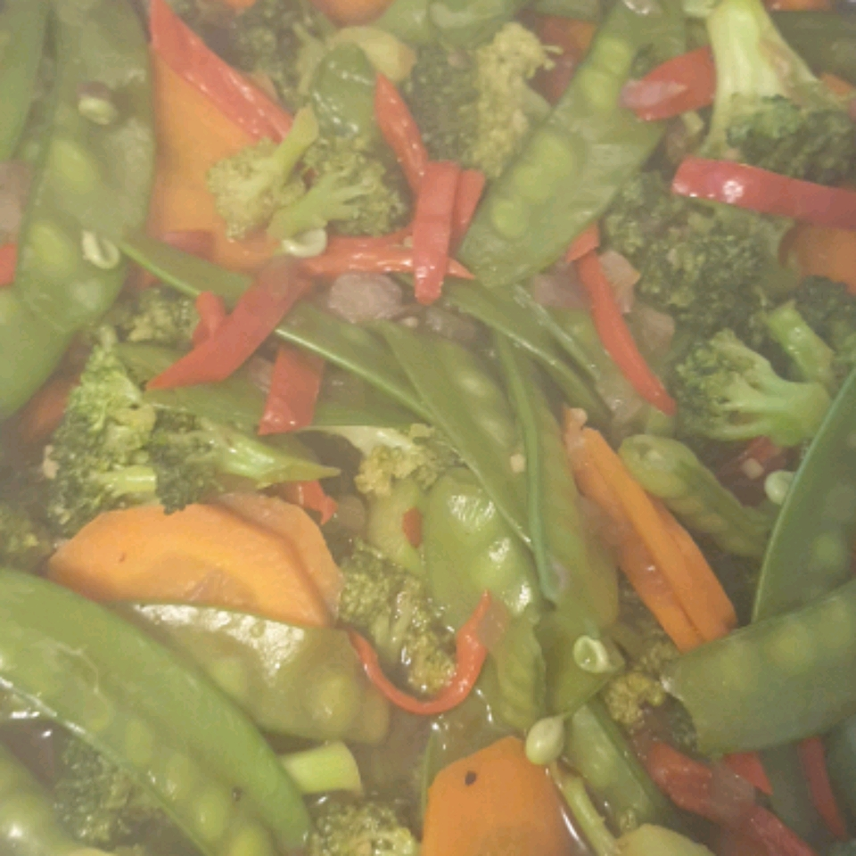 Stir Fried Wok Vegetables Rio