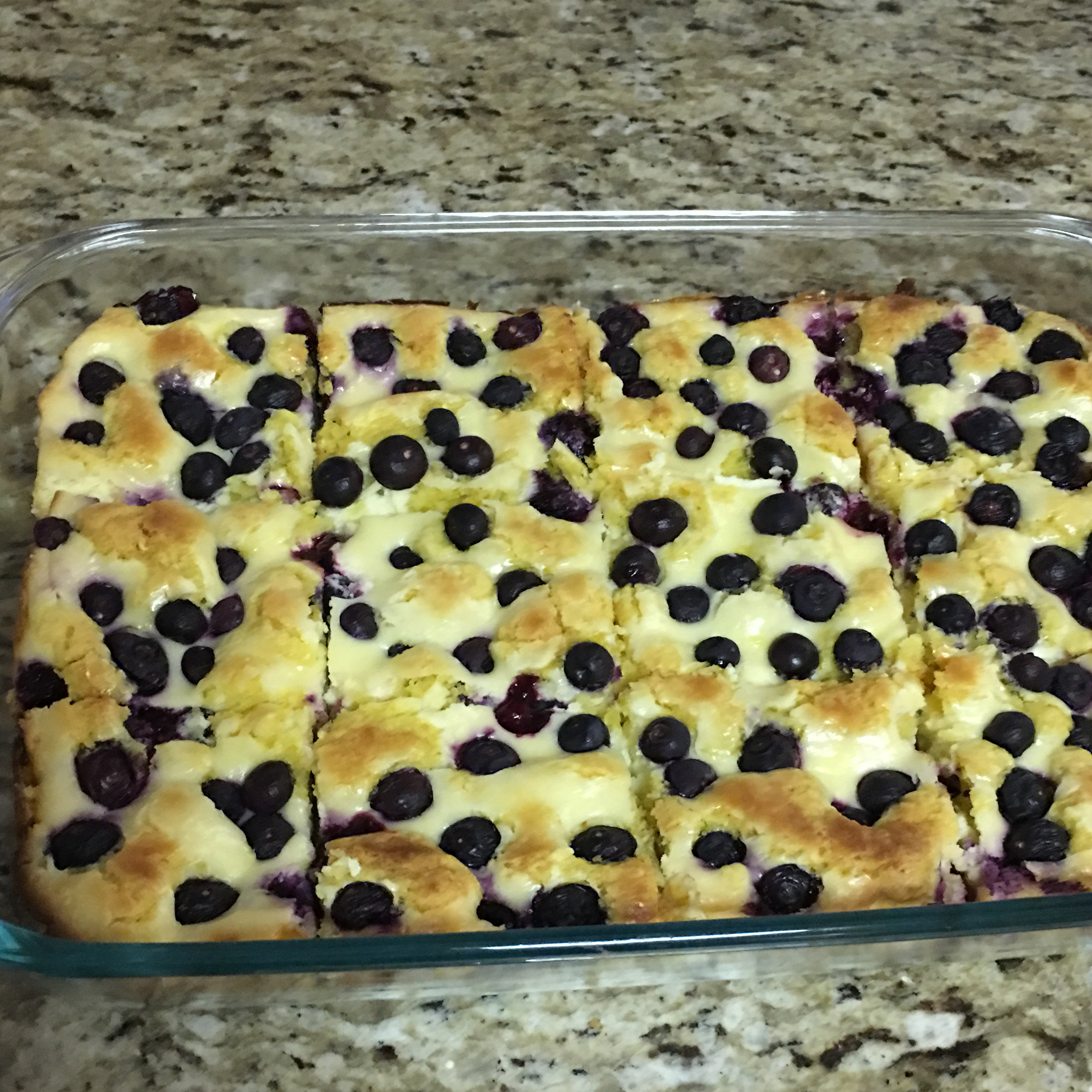 Lemon-Blueberry Crumb Bars Christamac