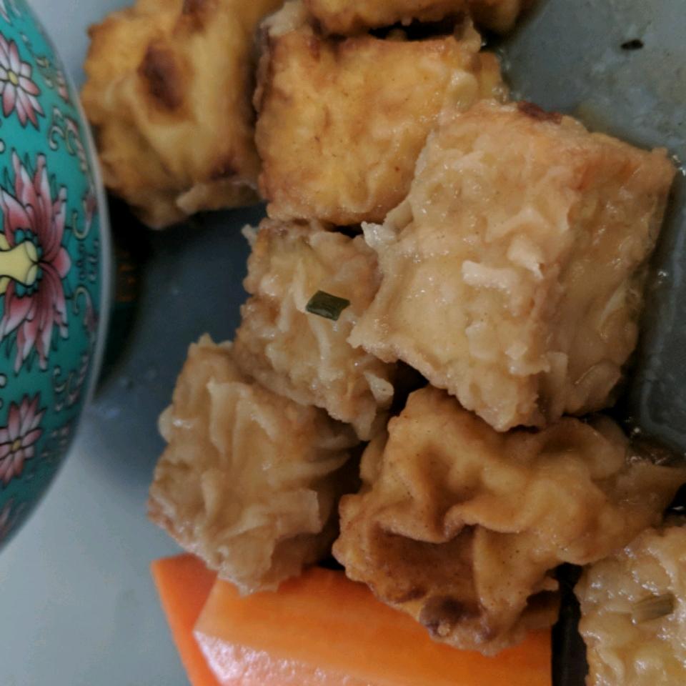 Japanese Agedashi Tofu Allison Currie