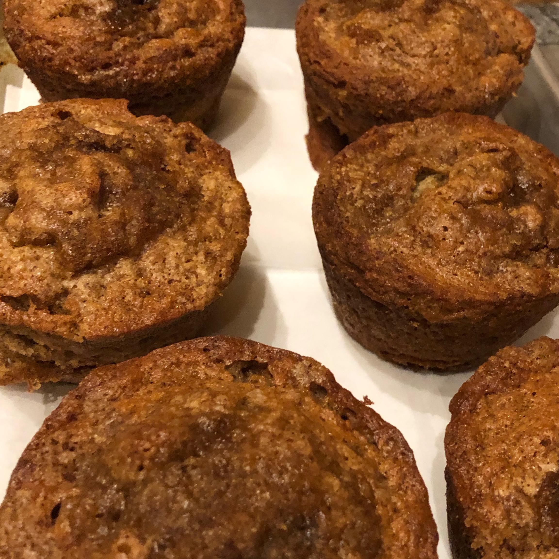 Banana Crumb Muffins Rosa
