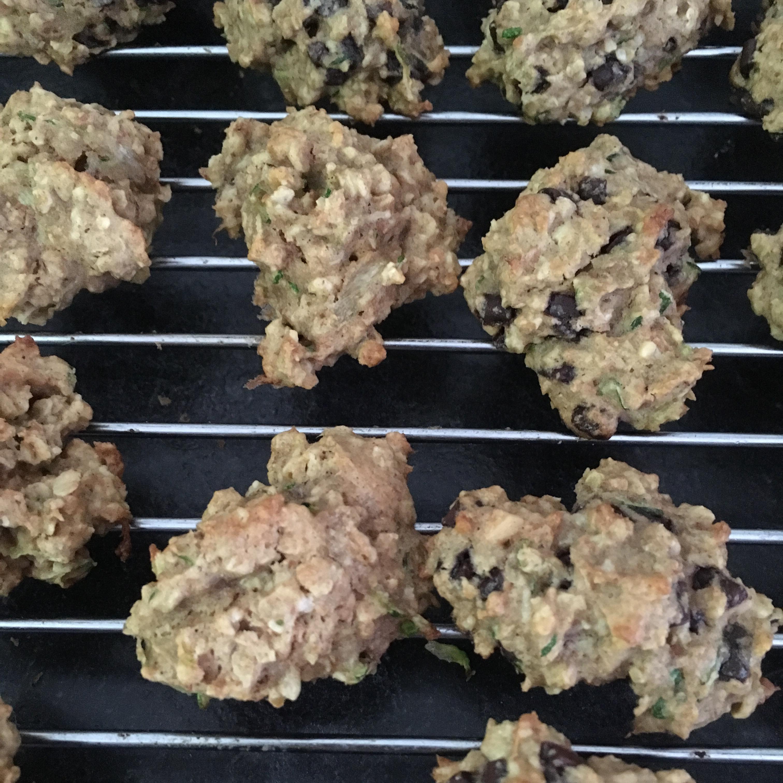 Peanut Butter Oatmeal Zucchini Cookies Cara Corpieri