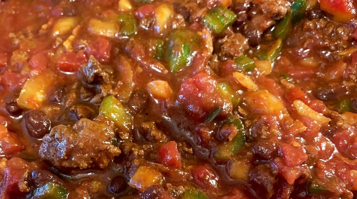 Slow Cooker Chili without Beans