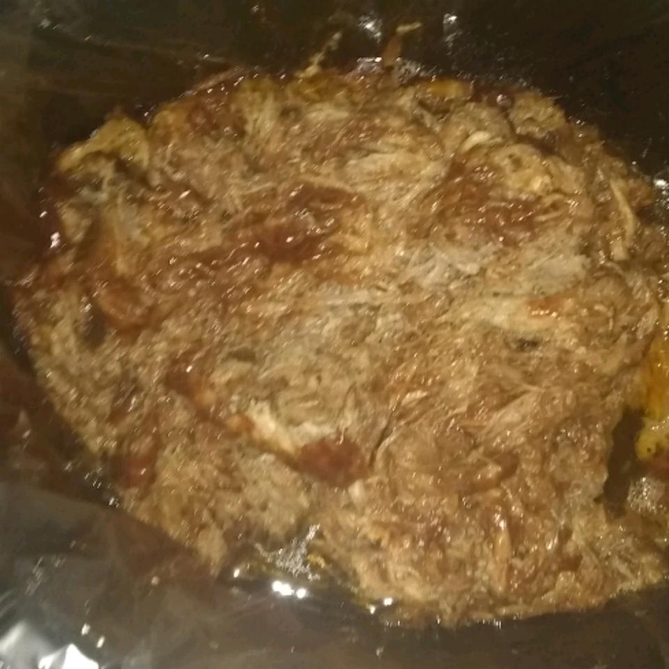 Easy Slow Cooker BBQ yekibe