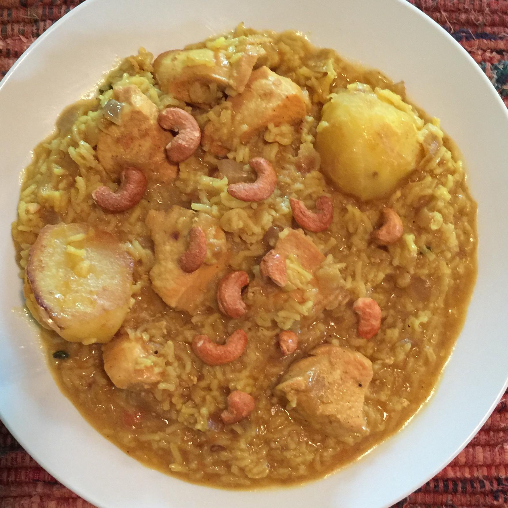 Chicken Biryani Sherry Giampino