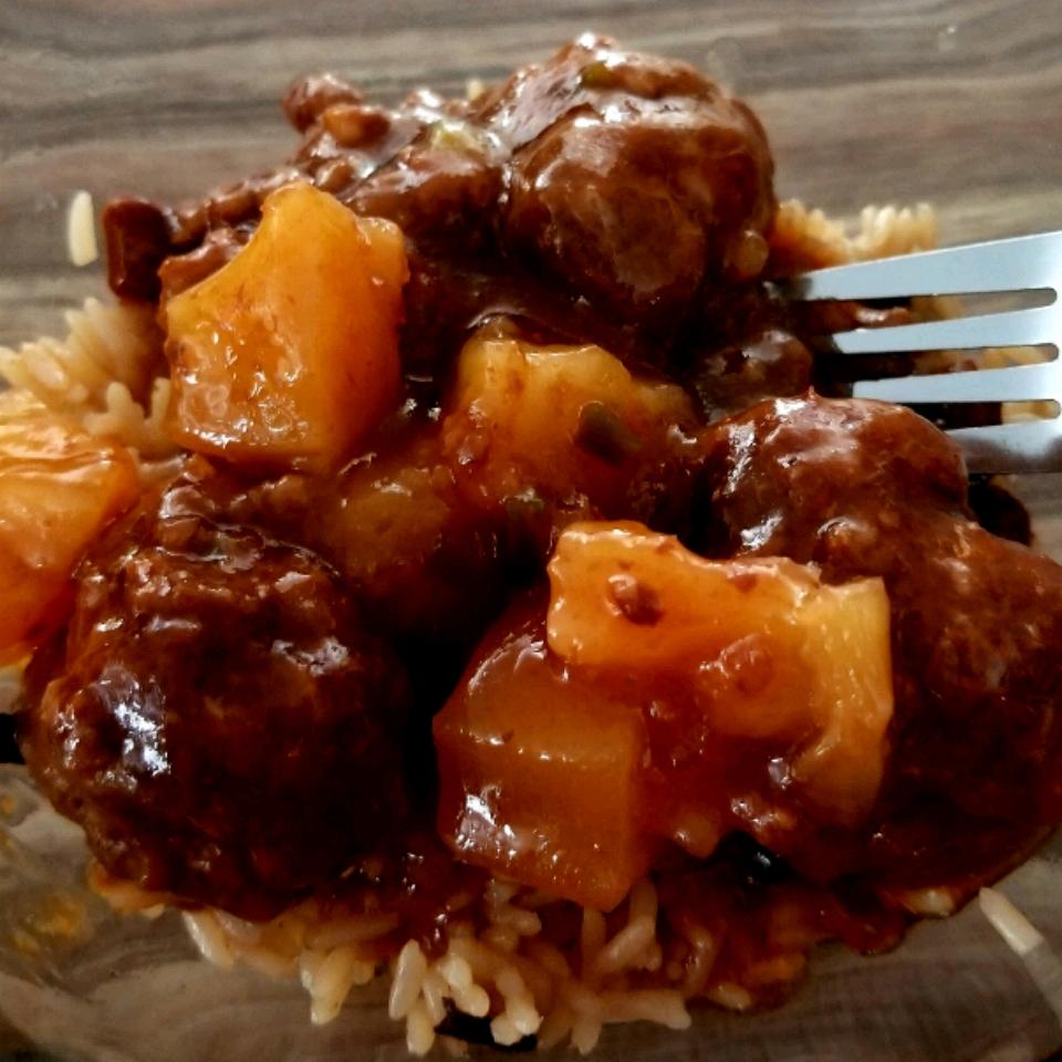Waikiki-Style Meatballs