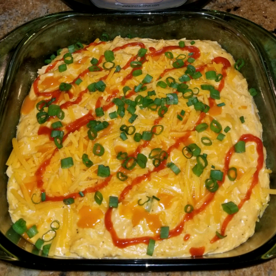 Instant Pot® No-Stress Buffalo Chicken Dip JayShannon