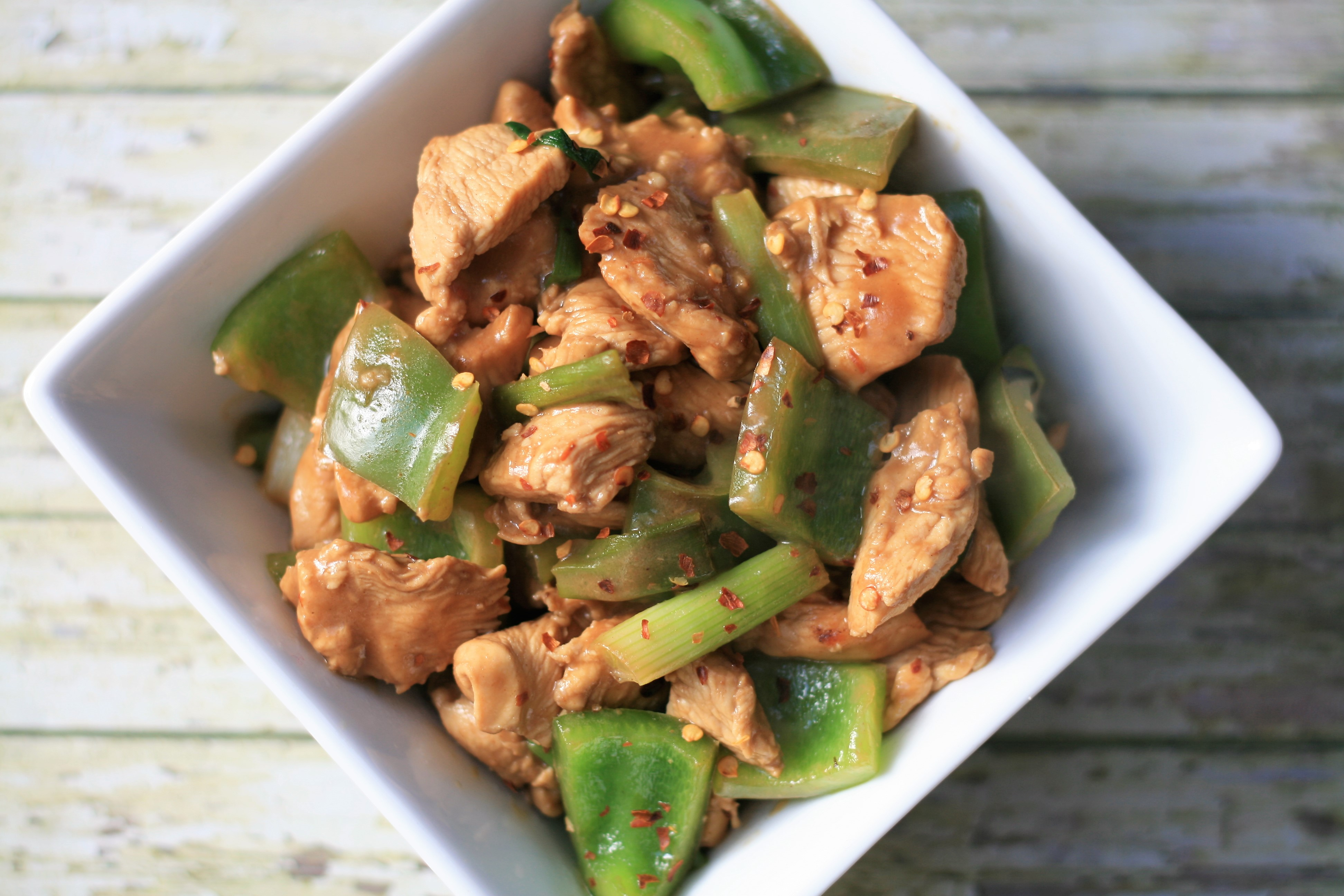 Kung Pao Chicken Without Peanuts Samantha Biddlecom