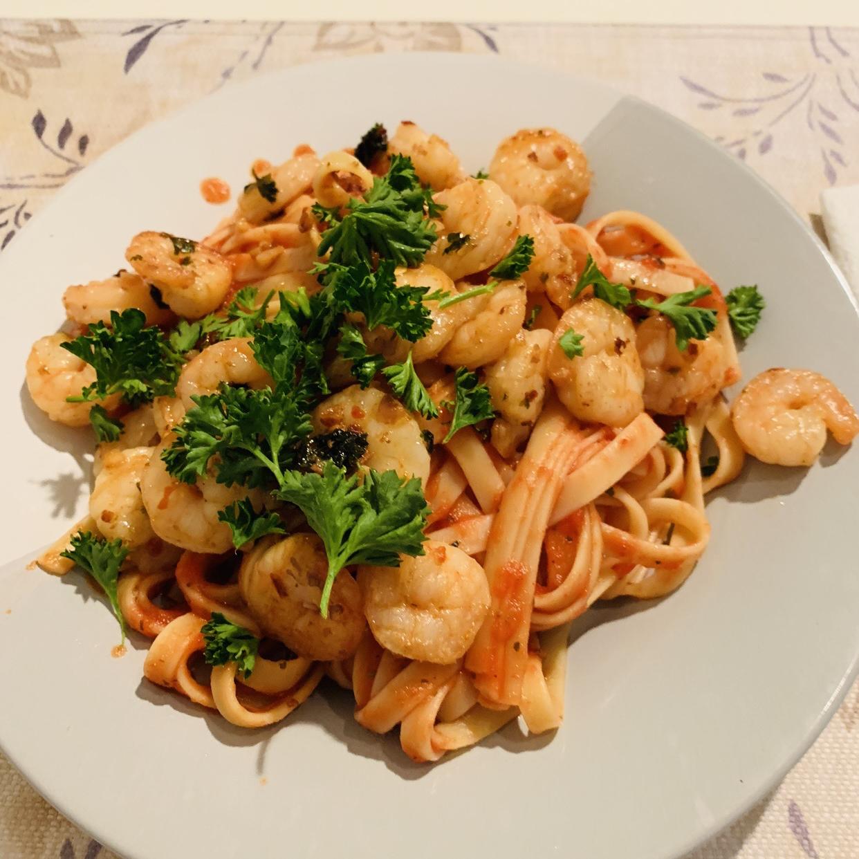 Simple Garlic Shrimp Brock2007
