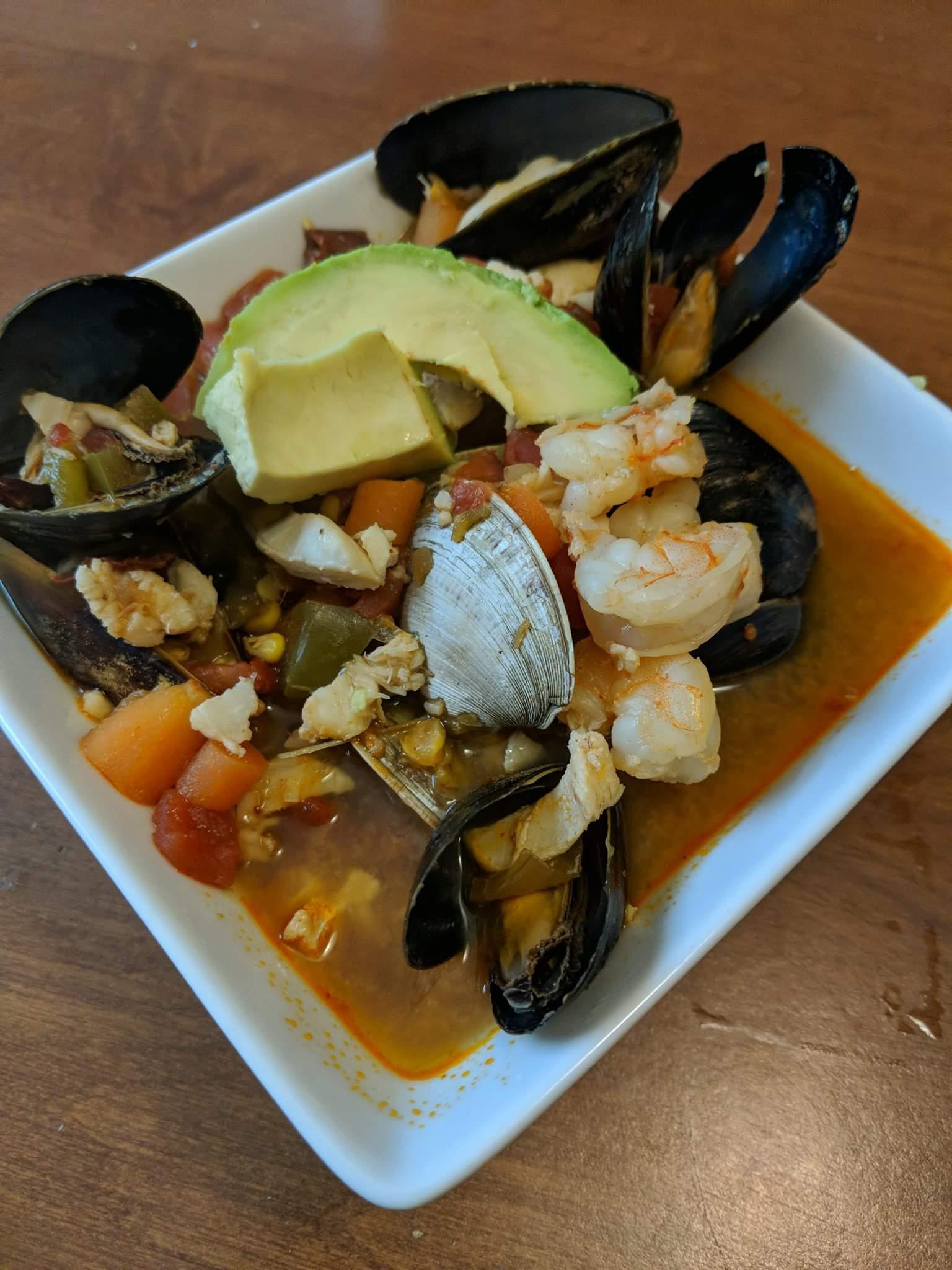 Sopa de Mariscos (Seafood Soup)